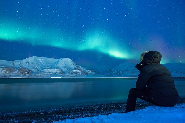 Norrlands vackra norrsken